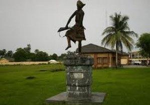 Ikot-Abasi - The sculpture for the slain Women
