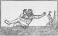 Illustr.- Relation envoyée de Brest au sujet d'un monstre ou homme marin, 1725.png