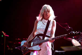Kim Gordon (Sonic Youth) at Rock en Seine Rout...