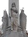Immaculata column by Dezső Erdey, Saint Joseph, 2018 Belváros-Lipótváros.jpg