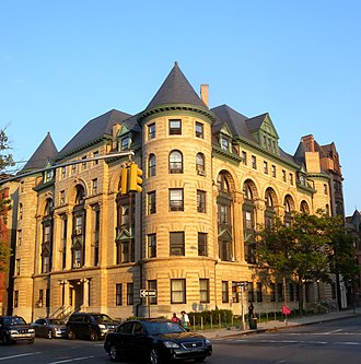 Crown Heights, Brooklyn - Imperial Apartments on Bedford Avenue, built in 1892