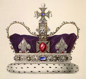 Imperial State Crown - Image: Imperial State Crown of George I