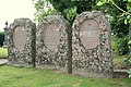Impressive headstones in Advie cemetery. - geograph.org.uk - 250269.jpg
