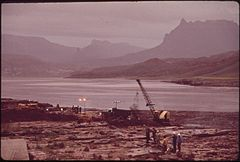 In October, 1972, a Pipeline of the Texas - New Mexico Pipeline Company Burst, Releasing 285,000 Gallons of Crude Oil Into the San Juan River, 10-1972 (3814969542).jpg
