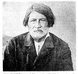 Inacayal Leader of the Tehuelche
