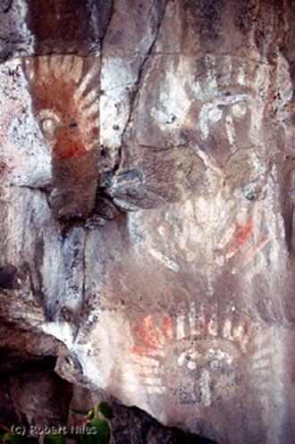 Yakima Indian Painted Rocks - Indian Painted Rocks, Yakima, Washington