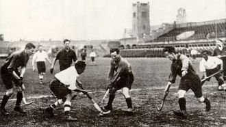 Field hockey at the 1928 Summer Olympics - Match of the Indian hockey team