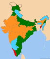 Indian states according to the party of their cm.png