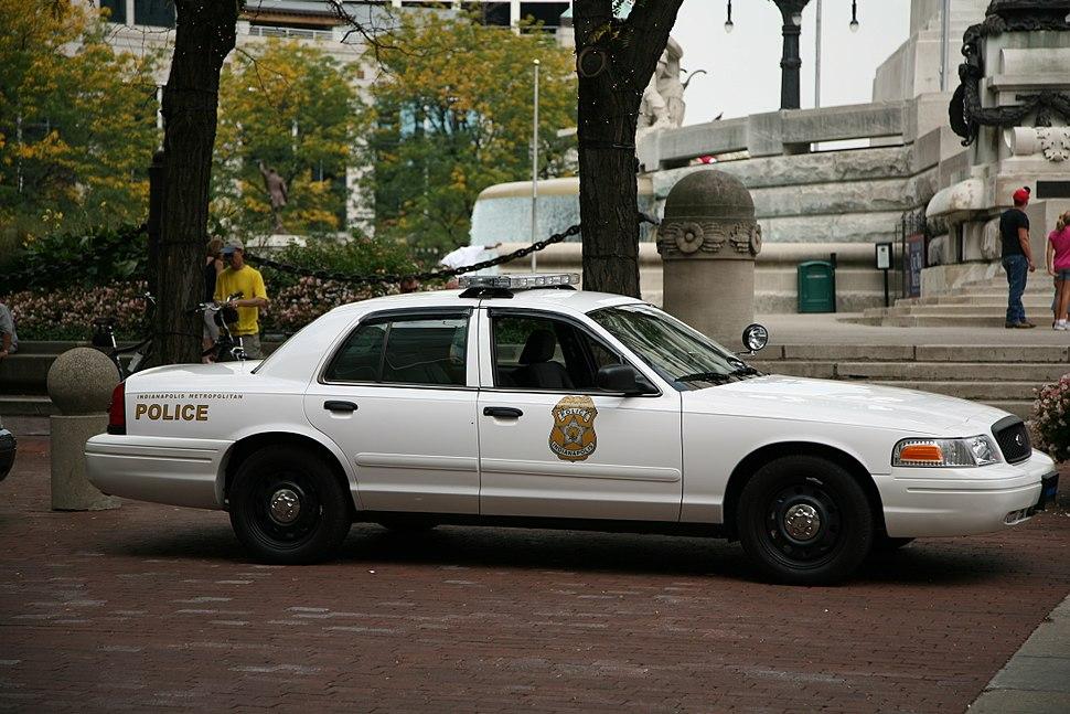 Indianapolis Metropolitan police cruiser 2