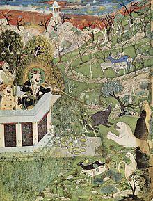 Râjâ Râm Singh II. Auf Der Jagd (Indien, Ca. 1830)