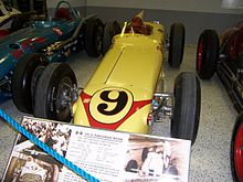 Winning car of the 1958 Indianapolis 500