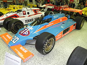 Patrick Racing - Gordon Johncock's 1982 Indianapolis 500 winning car.