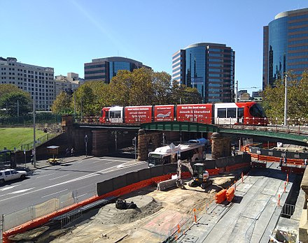 Light rail in Sydney