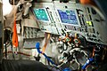 Inside the Soyuz spacecraft. -interstellar today. (15885043256).jpg