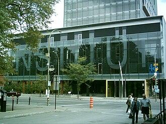 Institut de tourisme et d'hôtellerie du Québec - The Institut de tourisme et d'hôtellerie du Québec on Saint Denis Street near Saint-Louis Square in Le Plateau-Mont-Royal.