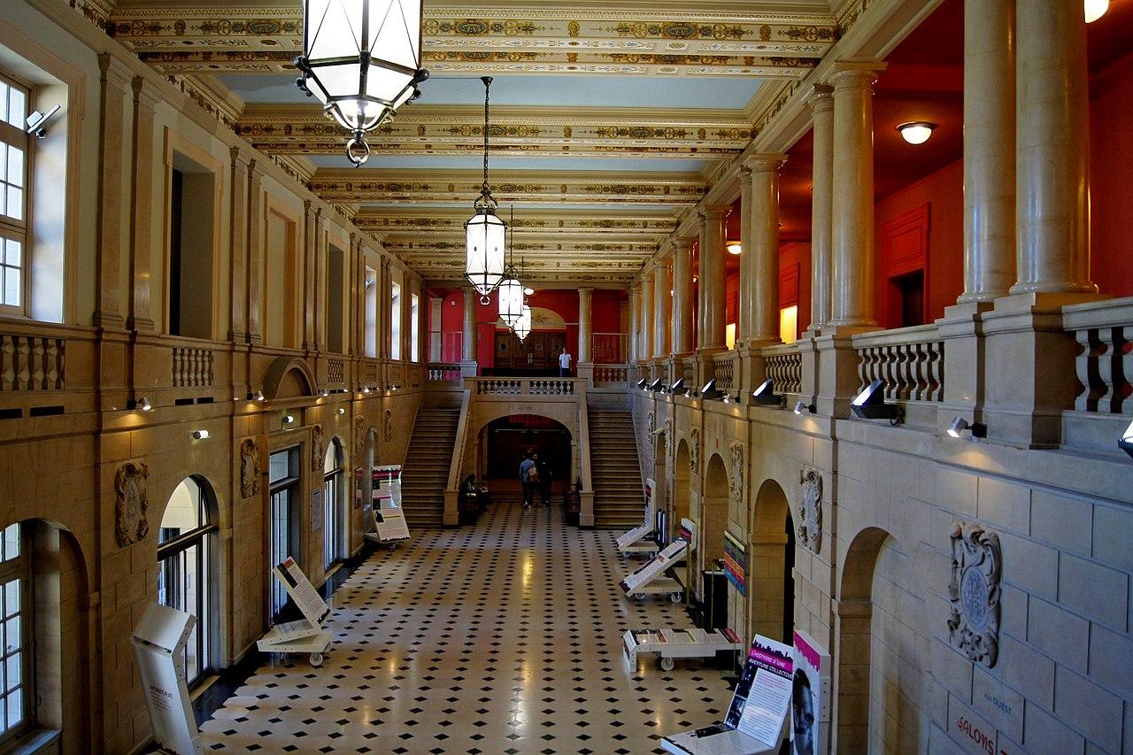 File int rieur de la maison internationale la cit universitaire de wikimedia commons - La maison paris 17 ...