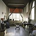 Interieur, overzicht van het interieur van een kantoortje op de begane grond - Maastricht - 20385975 - RCE.jpg