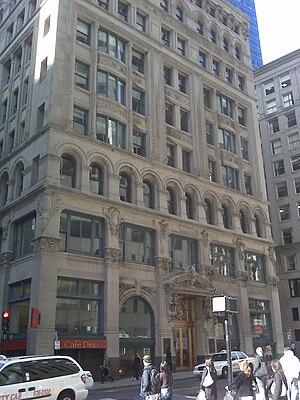 International Trust Company Building - International Trust Company Building as it appeared in 2009