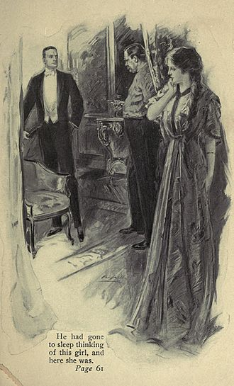 P. G. Wodehouse bibliography - Illustration from the 1910 novel A Gentleman of Leisure