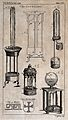 Inventions; various items including fountains, a Greek-key f Wellcome V0024461EL.jpg