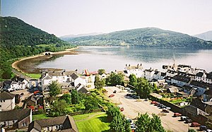 Inveraray - View from the Tower.