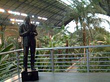 Invernadero de atocha wikipedia la enciclopedia libre - Jardin tropical atocha ...
