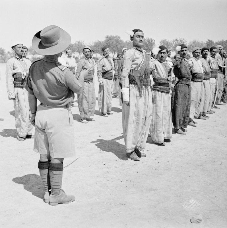 Iraq Levies in Training at Habbaniya E11584
