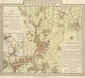 Islington E Baker 1805