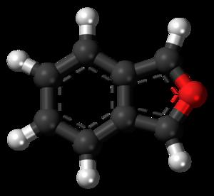 Isobenzofuran - Image: Isobenzofuran 3D balls