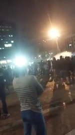 קובץ:Israeli police shooting stunt grenades at fleeing Israeli citizens demonstrating in Rabin Square, Tel Aviv, Israel.ogv