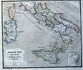 Italia inf., Sicilia, Sardinia, Corsica terrarum antiquus 1861.jpg