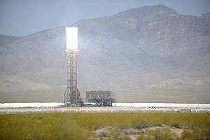 Solar power tower - Image: Ivanpah Solar Power Facility Online