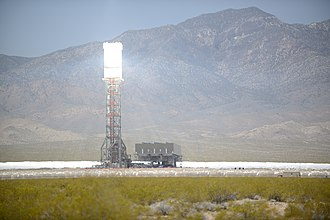 Solar power tower - Image: Ivanpah Solar Power Facility Online