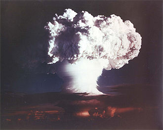 "Edward Teller - The 10.4 Mt ""Ivy Mike"" shot of 1952 appeared to vindicate Teller's long-time advocacy for the hydrogen bomb."