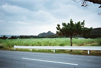 Izena Castle - Image: Izena Castle on Izena Island