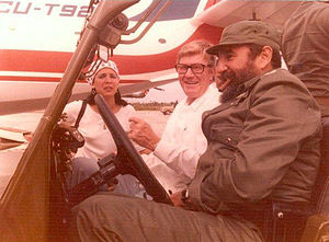 J. Paul Austin - J. Paul Austin and Fidel Castro in Cuba