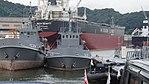 JMSDF YW-23 front view at Maizuru Naval Base July 29, 2017.jpg