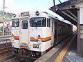 JNR Kiha 40 Takayama Line Hida-Furukawa Station 2009-10-25 (4042056065).jpg