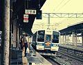 JR Kyusyu 415 at Kokura Station 19870826.jpg