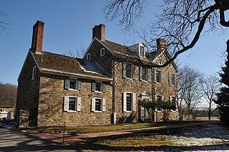 Hugh M. Morris - Morris Estate House in White Clay Creek State Park