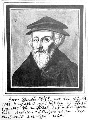 Johann Jakob Wick - J. J. Wick