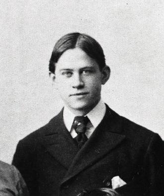 """Frederick Bushnell """"Jack"""" Ryder - Ryder pictured c. 1893"""