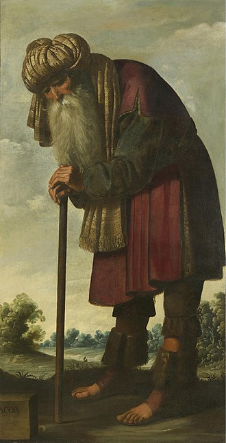 Jacob and his twelve sons - Jacob by Zurbarán