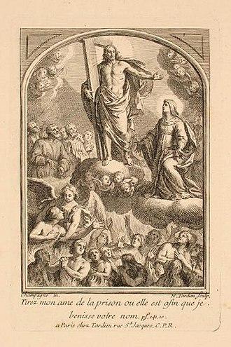 Jacques-Nicolas Tardieu - Image: Jacques Nicolas Tardieu Gloire de Christ