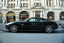 Limited Edition 2008 4.2 XKR S, Pictured In London