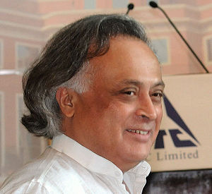 Cropped from image of Jairam Ramesh the Indian...