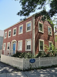 James B. Barnes House building in Massachusetts, United States