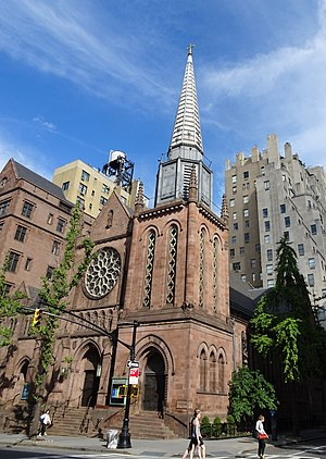 St. James' Episcopal Church (New York City) - Image: James Co E Madison & 71 jeh
