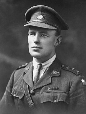 James Newland - Captain James Newland c.1918