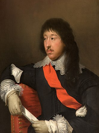 James Stanley, 7th Earl of Derby - James Stanley, 7th Earl of Derby, portrait by Cornelius Johnson (1593–1661), Tabley House, Knutsford, Cheshire. Stanley was a man of deep religious feeling and of great nobility of character